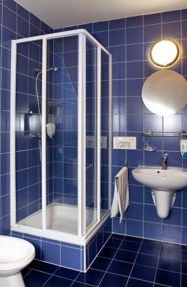 Hotel Kálvária - fürdőszoba háromcsillagos épületben