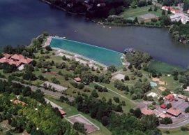 Nagystrand (Pécsi-tó)_Orfű Fürdő és strand , Nagystrand (Pécsi-tó)...