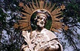 Nepomuki Szent János szobor_Látnivalók Mór , Nepomuki Szent János...