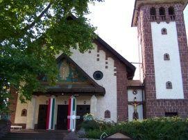 Szent Imre parish church and Szent Jobb chapel_ , Szent Imre parish church...