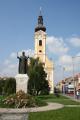 Templom: Nepomuki Szent János Plébániatemplom