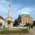 Szentháromság szobor:  program  Pécs városban