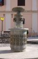 Zsolnay díszkút:  program  Pécs városban