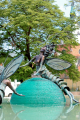 Tiszavirágpár szobor:  program  Szolnok városban