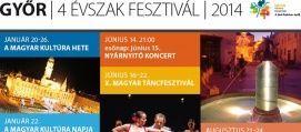 Négy Évszak Fesztivál Nyárnyitó koncert Programok Győr, Négy Évszak Fesztivál Nyárnyitó koncert Programok Győrben,