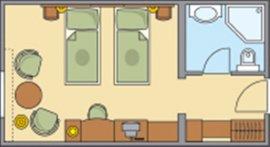 Főépületi hotelszoba