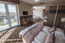 Exclusive franciaágyas szoba - Balatoni panorámás, pezsgőfürdős