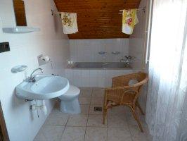 Szárcsai apartman - Fürdőszoba