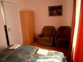 Egyes számú 4 fős apartman 2 hálótérre