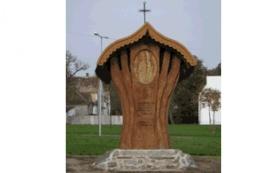 Milleniumi Boldogasszony Emlékmű_Nyugat-Dunántúl Köztéri szobor ,...