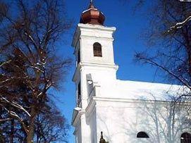 Római katolikus templom és a kálvária_Balaton környéke Templom ,...