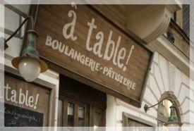 a table! boulangerie - patisserie_Budapest tájegység Kávéház és...