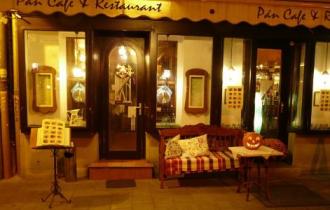 Café Pán Restaurant_Budapest tájegység Kávéház és cukrászda ,...