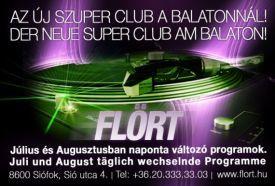 Flört the Club_Balaton Rendezvényhelyszín , Flört the Club balatoni...
