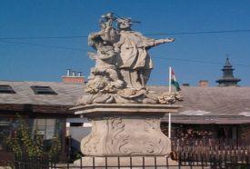 Nepomuki Szent János szobor_Budapest és környéke régió Köztéri...
