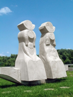 Ister-pár szobor_Tatabánya és környéke Műemlék , Ister-pár szobor...