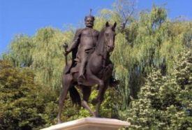 Bocskai lovasszobor_Hajdú-Bihar megye Köztéri szobor , Bocskai...