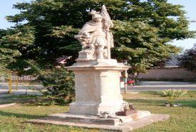 Szent Flórián szobra_Dél-Dunántúl Köztéri szobor , Szent Flórián...