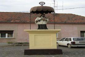 Nepomuki Szent János szobor_Pécs és környéke Köztéri szobor ,...