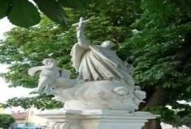 Nepomuki Szent János szobra_Nyugat-Dunántúl Köztéri szobor , Nepomuki...