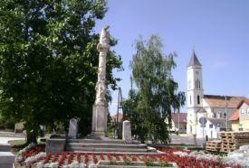 Pestis Emlékoszlop_Győr-Moson-Sopron megye Látnivalók , Pestis...