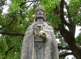 Szent István szobor_Budapest és környéke régió Köztéri szobor ,...