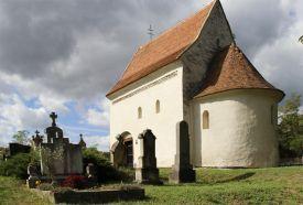 Román kori temetőkápolna (Deák-sírbolt)_Zala megye Templom , Román...