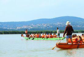 Sárkányhajózás a Velencei-tavon_Fejér megye Különleges hely ,...