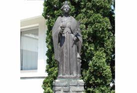 Szent Borbála szobor_Nyugat-Dunántúl Köztéri szobor , Szent Borbála...