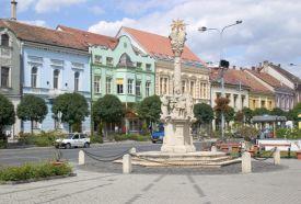 Szentháromság szobor_Nyugat-Dunántúl Köztéri szobor ,...